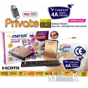 Mersat Private Full HD Mini Uydu T�rksat 4AY�kl�