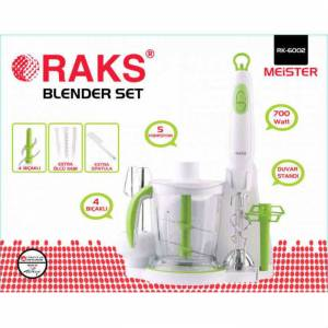 RAKS BLENDER SET RK-6002 MEISTER