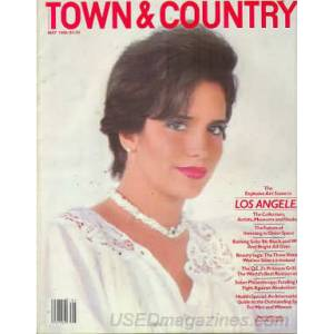 Town & Country Dergisi JMay 1986 �NG�L�ZCE