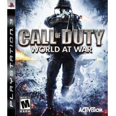 PS3 CALL OF DUTY WORLD AT WAR PS3 OYUNU+�ND�R�MM