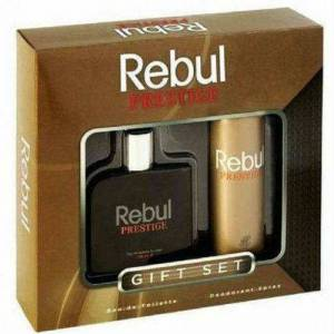 Rebul Men PRESTIGE Erkek Parf�m� 100ML EDT + Deo
