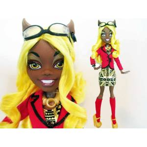 monster high hollywood clawdia wolf