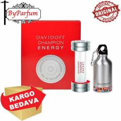 Davidoff Energy Set EDT 90 ml+Sports Flask Hediy