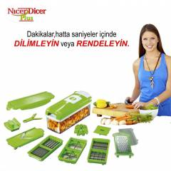 Nicer Dicer Plus Pratik Do�ray�c� Dilimleyici
