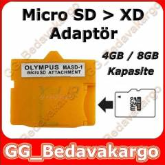 MicroSD SDHC to OLYMPUS XD Picture Card ADAPT�R