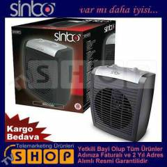 Sinbo SFH3317 Fanl� Is�t�c� S�cak / So�uk �fleme