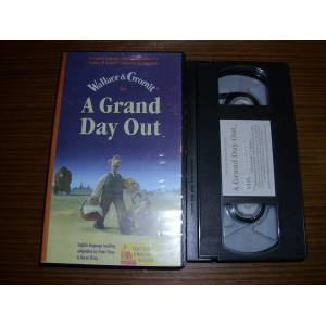 WALLACE GROMIT * A GRAND DAY OUT * �NG�L�ZCE