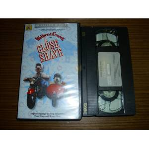 WALLACE GROMIT * A CLOSE SHAVE * �NG�L�ZCE VHS