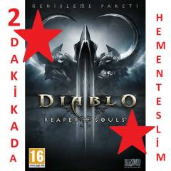 DiABLO 3 REAPER OF SOULS CD KEY EU CDKEY SIFIR