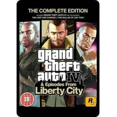 GRAND THEFT AUTO IV GTA 4 COMPLETE PC STEAM KEY