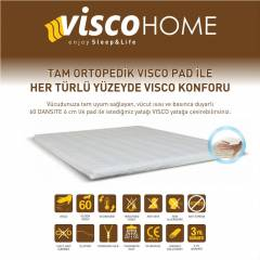 ViscoHome Tam Ortopedik Visco Yatak Pedi 80x200