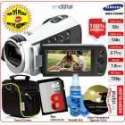 Samsung HMX-F90WP HD Video Kamera