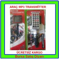 Ara� Mp3 Fm Transmitter Kumandal� Mp3 Player