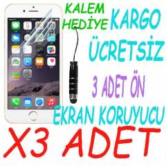 Apple iphone 6 4.7 Ekran Koruyucu Film 3 Adet