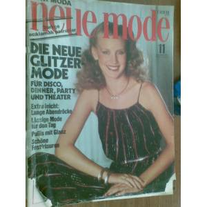 NEUE MODE NOVEMBER 1978 PATRONLU