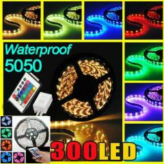 5 metre rgb �erit led full set (adapt�r+kumanda)