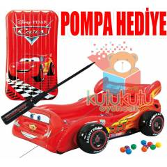 �ntex Disney Cars Arabal� �i�me �ocuk Yata��