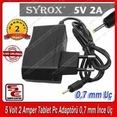 5 Volt 2 Amper Tablet Pc Adapt�r� �nce U� SYROX