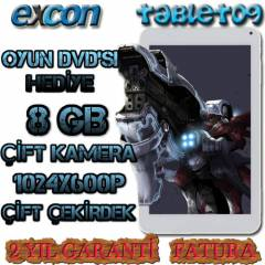 Excon 8Gb Tablet Pc �ift �ekirdek �ift Kamera