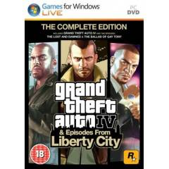 Grand Theft Auto IV 4 GTA 4 STEAM Complete Edt