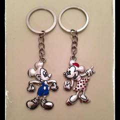 Minnie - Mickey Mouse �iftli Anahtarl�k Disney