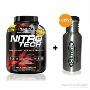 MUSCLETECH Nitrotech Protein 1.8 kg +Metal Suluk