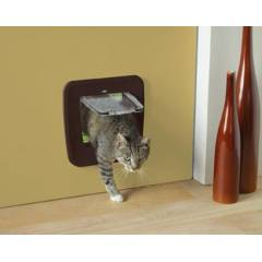 Access 4 Y�nl� Upgradable Kedi Kap�s� - Kahveren