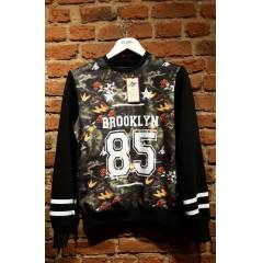 NEW STYLE! BROOKLYN D�J�TAL BASKI SWEATSH�RT NBA