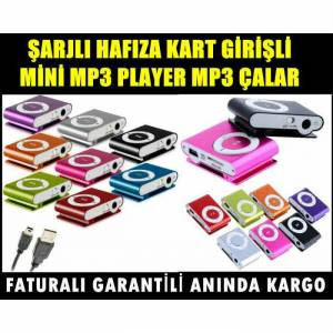 Mp3 �alar m�zik �alar �arjl� mini MP3 Player