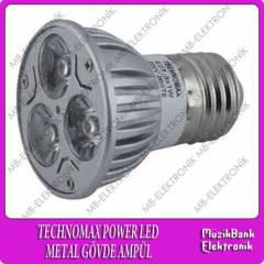 POWER LED TECHNOMAX3X1W 3W 220V METAL G�VDE
