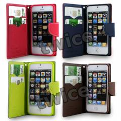 iPhone 4 4S K�l�f C�zdan YAN KAPAKLI MODEL
