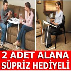 PORTAT�F LAPTOP VE YEMEK MASA SEHPASI TABLE MATE