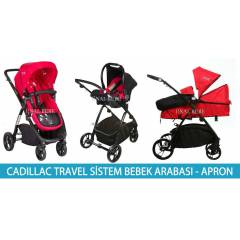 Casual Cadillac Trio Travel Sistem Bebek Arabas