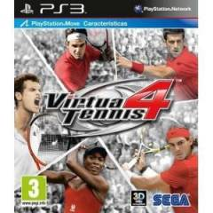 VIRTUA TENNIS 4 MOVE UYUMLU PS3 OYUNU-�CRETS�Z K