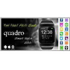 "Quadro Smart Watch S88 1.54"" 400mAH Ak�ll� Saat"