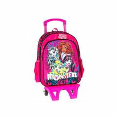 Monster High çekçekli okul çantası model -2