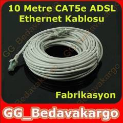 10m Cat5e Adsl Ethernet Eternet internet Kablosu