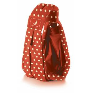 The Baba Sling Kanguru Polka Red