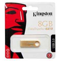 KINGSTON 8GB MiNi METAL ALTIN KAPLAMA DTGE9/8GB