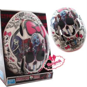 Monster High �ocuk Scooter Kask� Monster Lisansl