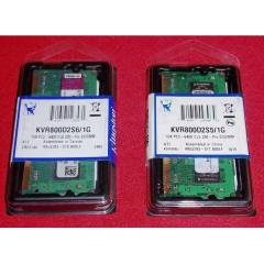 1GB DDR2 800 MHZ KINGSTON NOTEBOOK RAM SIFIR