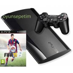 Sony Playstation 3 12gb -Ps3 12gb+Fifa 2015 oyun
