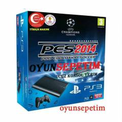 Sony Playstation3 12gb+PES 2014( PS3 12GB+PES14)