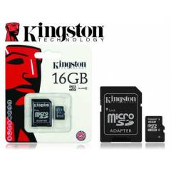 Kingston 16Gb MicroSDHC Haf�za Kart� �cretsiz Ka