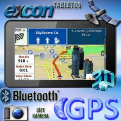 Excon 7in� Gps Navigasyon Tablet Pc DualCore