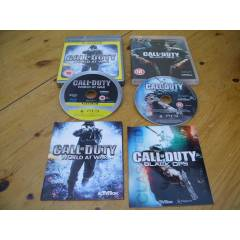 CALL OF DUTY BLACK OPS VE WORLD AT WAR 2OYUN