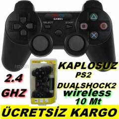 PS 2 KABLOSUZ OYUN KOLU Ps2 Wireless Oyun Kolu