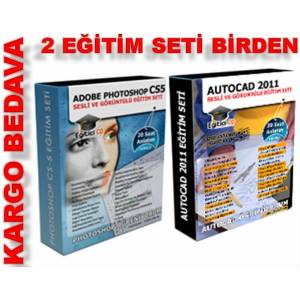 PHOTOSHOP CS5 VE AUTOCAD 2011 E��T�M SETLER�