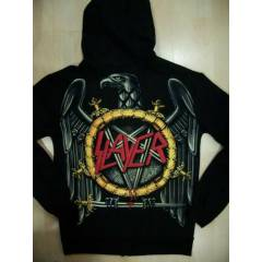 Slayer Fermuarl� Kap�onlu Sweatshirt