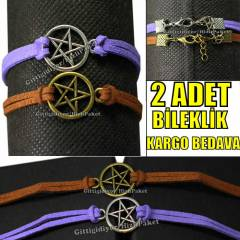 SUPERNATURAL HARRY POTTER PENTAGRAM B�LEKL�K!